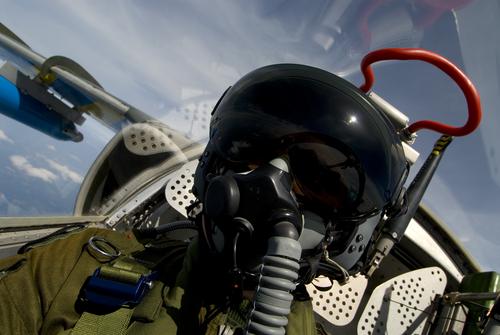 An Air Force Fighter Pilot Image for AFOQT Academy Practice Test 01D